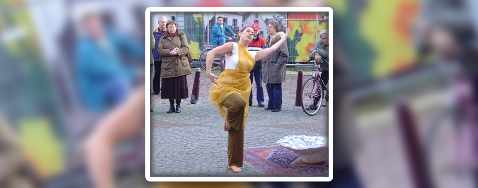 Uitvoerend danseres